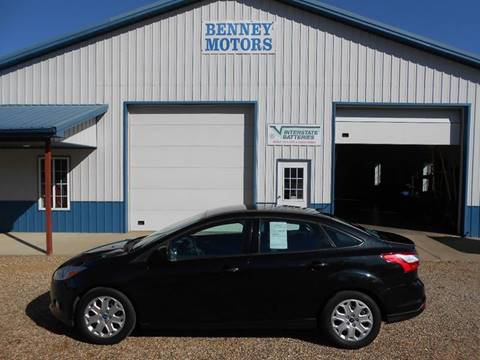 2012 Ford Focus for sale in Parker, SD