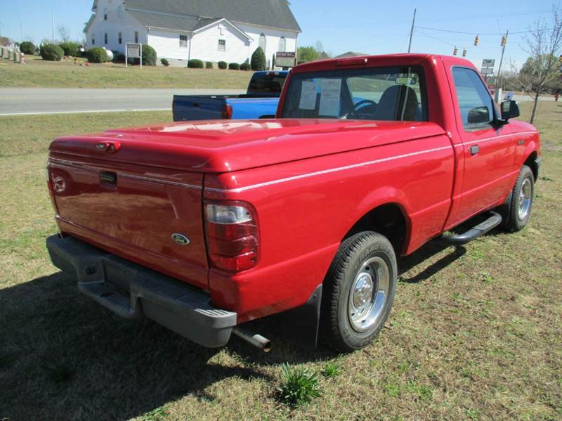 2001 Ford Ranger 2dr Standard Cab XL 2WD SB - Garner NC