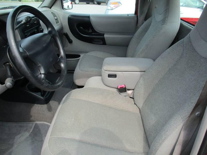 2000 Ford Ranger 2dr XLT Standard Cab SB - Garner NC