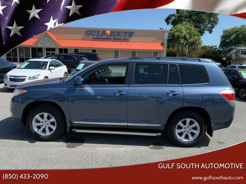 2013 Toyota Highlander for sale at Gulf South Automotive in Pensacola FL