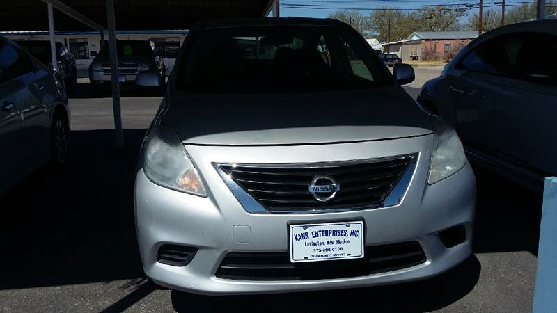 2013 Nissan Versa 1.6 S 4dr Sedan 4A   Lovington NM