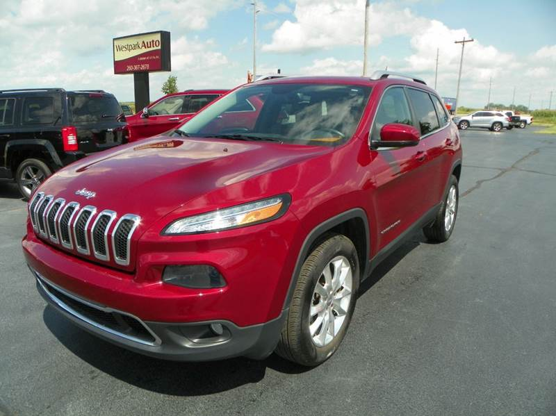 2015 Jeep Cherokee 4x4 Limited 4dr SUV - Lagrange IN