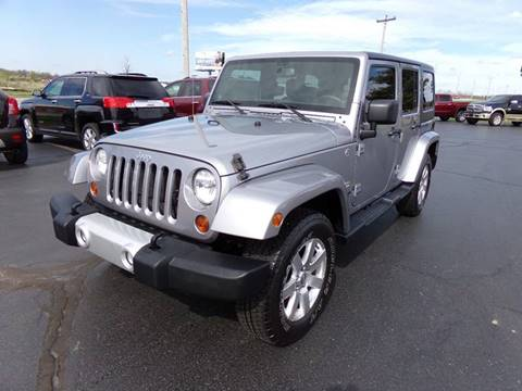 2013 Jeep Wrangler Unlimited for sale in Lagrange, IN