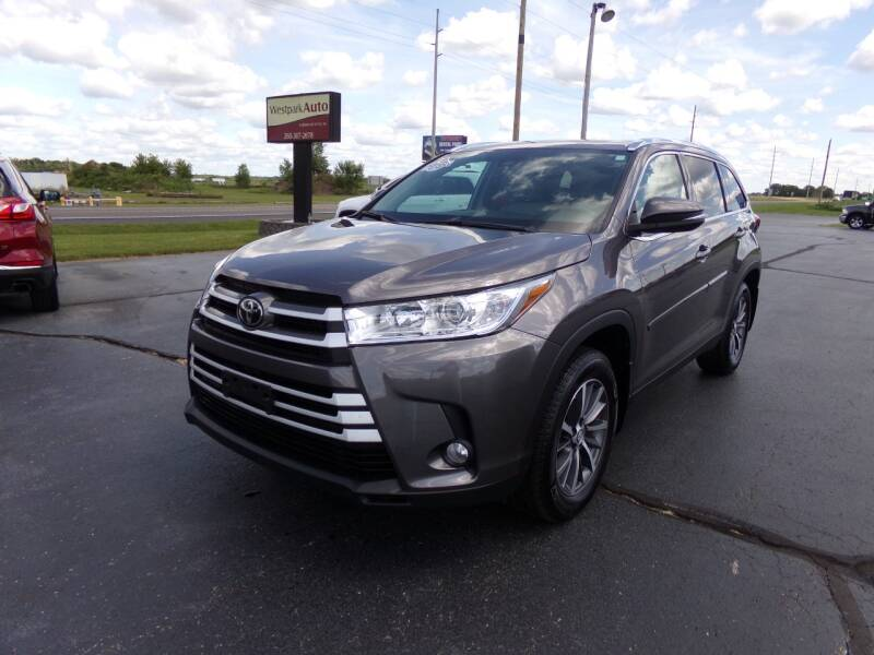 2019 Toyota Highlander for sale at Westpark Auto in Lagrange IN