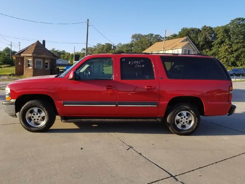2002 Chevrolet Suburban 1500 LT 4WD 4dr SUV - Bellevue NE