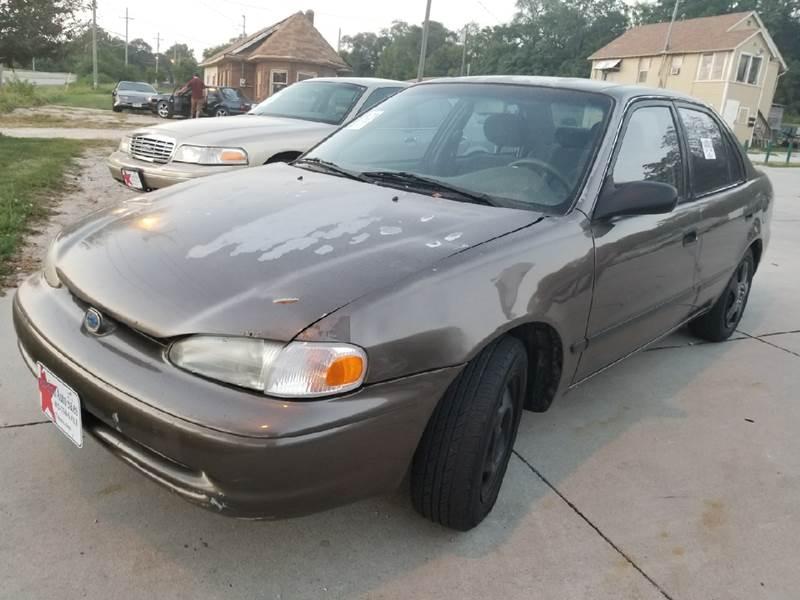 1999 Chevrolet Prizm 4dr Sedan - Bellevue NE