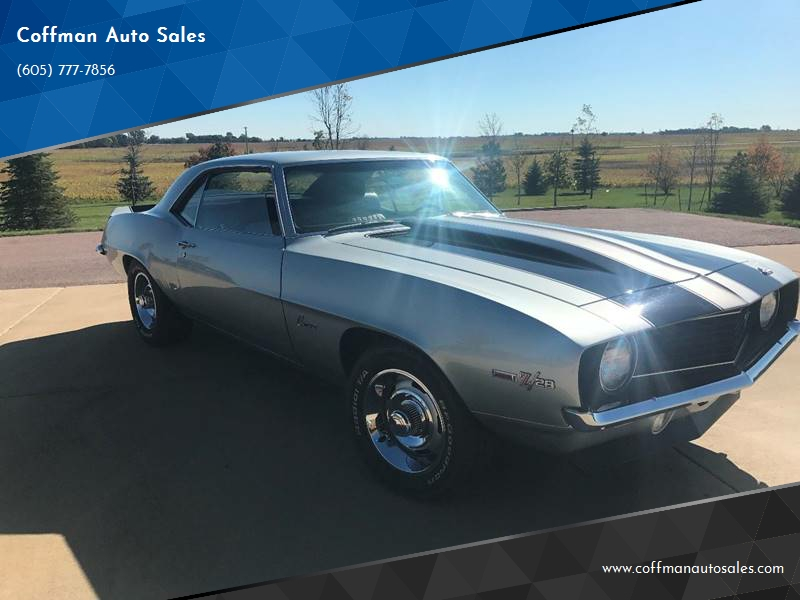 1969 Chevrolet Camaro for sale at Coffman Auto Sales in Beresford SD