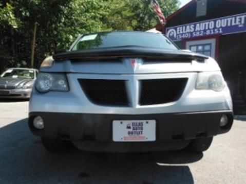 2003 Pontiac Aztek for sale in Thornburg, VA
