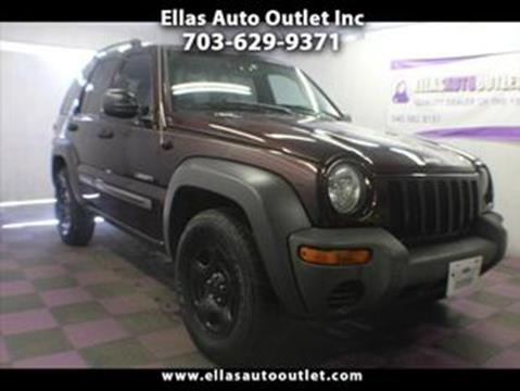 2004 Jeep Liberty for sale in Thornburg, VA