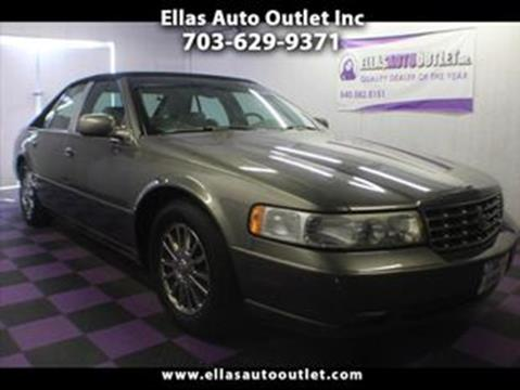 2001 cadillac seville sts gas mileage