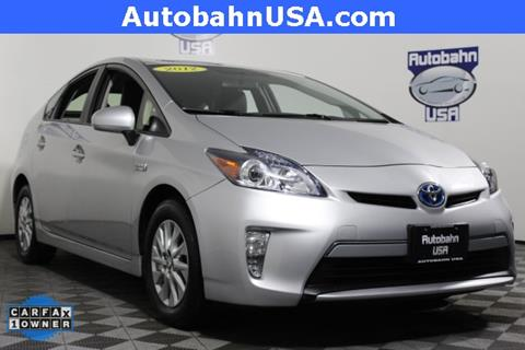 2012 Toyota Prius Plug-in Hybrid for sale in Westborough, MA