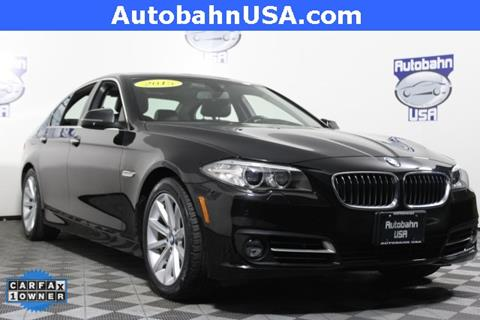 2015 BMW 5 Series for sale in Westborough, MA