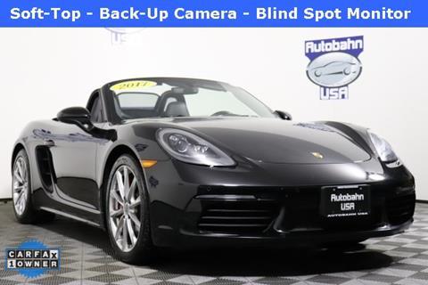 2017 Porsche 718 Boxster for sale in Westborough, MA