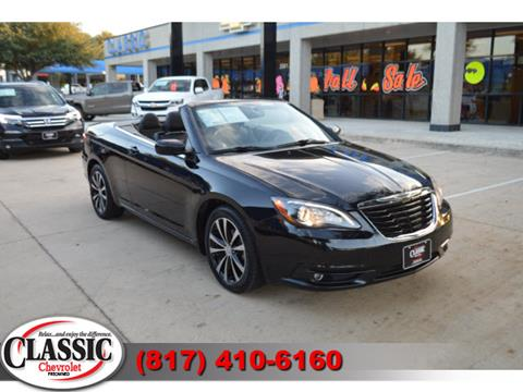2012 Chrysler 200 Convertible for sale in Grapevine, TX