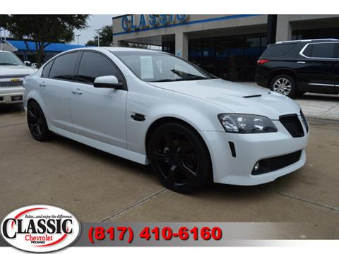 2009 Pontiac G8 for sale in Grapevine, TX