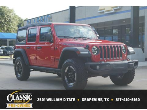 2018 Jeep Wrangler Unlimited for sale in Grapevine, TX