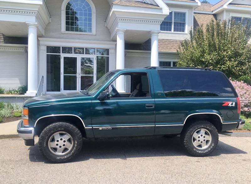 1995 Chevrolet Tahoe for sale at Keystone Automotive Inc. in Holliston MA