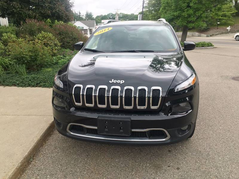 2014 Jeep Cherokee for sale at Keystone Automotive Inc. in Holliston MA