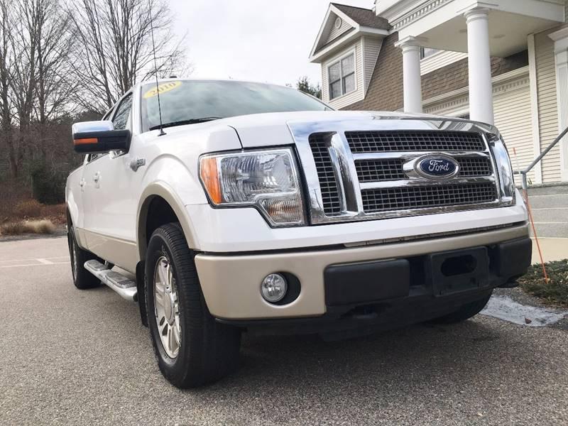 2010 Ford F-150 for sale at Keystone Automotive Inc. in Holliston MA