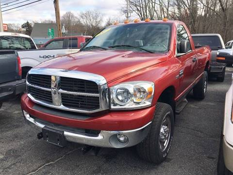 2007 Dodge Ram Pickup 2500 for sale at Keystone Automotive Inc. in Holliston MA