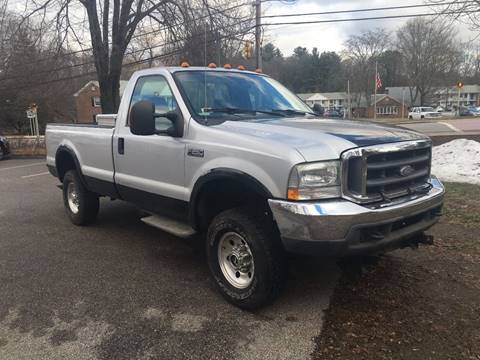2004 Ford F-250 Super Duty for sale at Keystone Automotive Inc. in Holliston MA