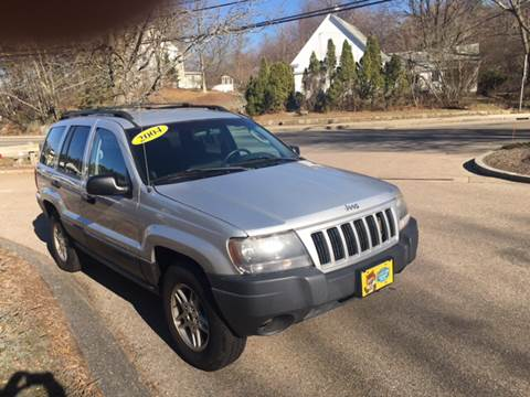 2004 Jeep Grand Cherokee for sale at Keystone Automotive Inc. in Holliston MA