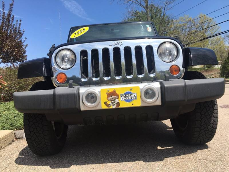 2008 Jeep Wrangler for sale at Keystone Automotive Inc. in Holliston MA