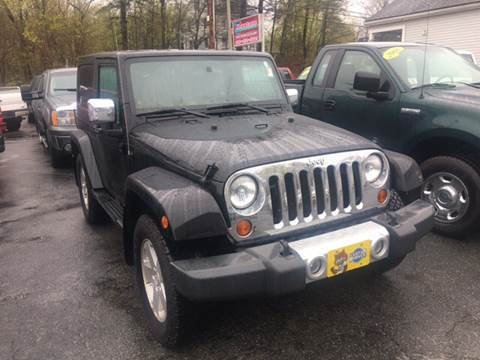 2008 Jeep Wrangler for sale at Keystone Automotive Inc. in Holliston MA