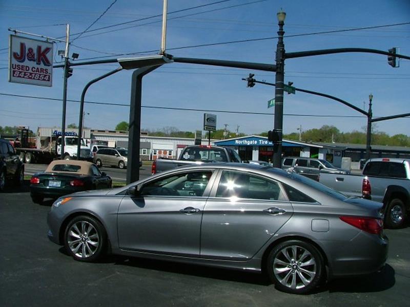 2012 Hyundai Sonata SE Auto In Bowling Green KY - J&K Used Cars Inc.