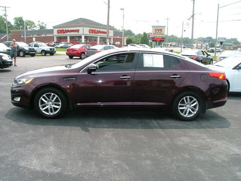 2013 Kia Optima LX 4dr Sedan   Bowling Green KY