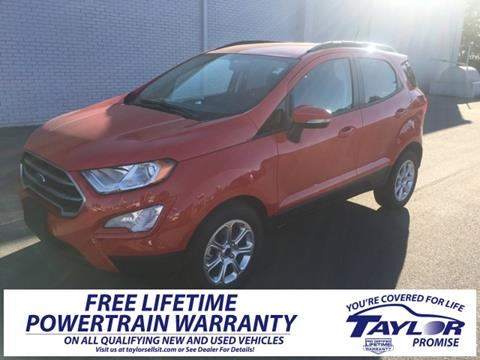 2019 Ford EcoSport for sale in Union City, TN