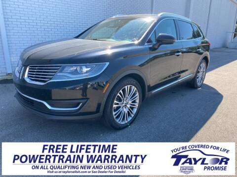 2017 Lincoln MKX Reserve for sale at Taylor Ford-Lincoln in Union City TN