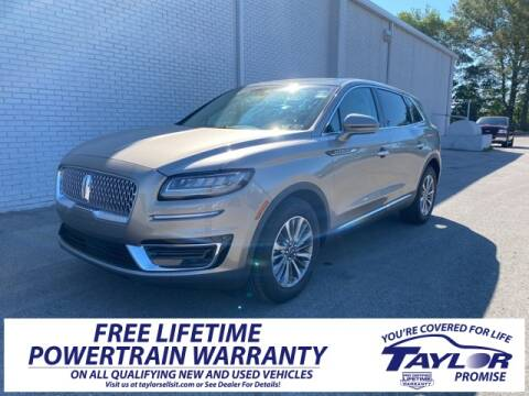 2020 Lincoln Nautilus Reserve for sale at Taylor Ford-Lincoln in Union City TN