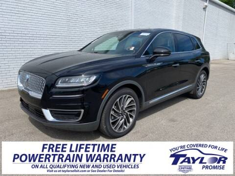 2019 Lincoln Nautilus Reserve for sale at Taylor Ford-Lincoln in Union City TN