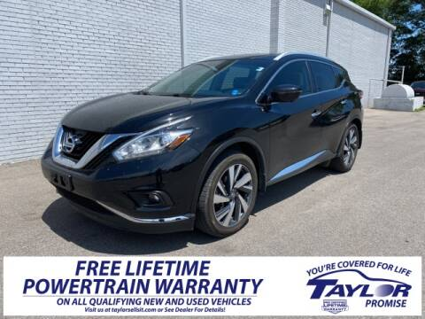 2016 Nissan Murano for sale at Taylor Ford-Lincoln in Union City TN