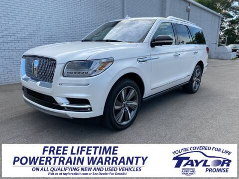2019 Lincoln Navigator Reserve for sale at Taylor Ford-Lincoln in Union City TN