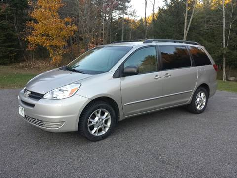 2005 Toyota Sienna for sale in Barre, VT