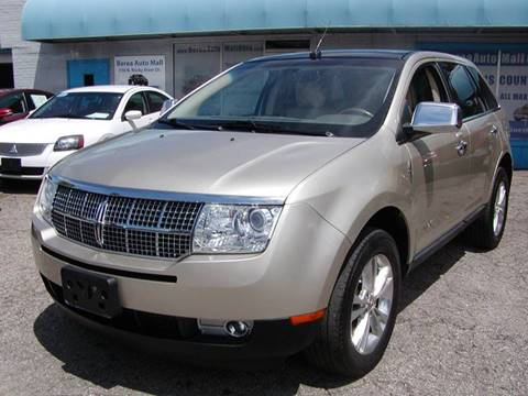 2010 Lincoln MKX for sale in Berea, OH