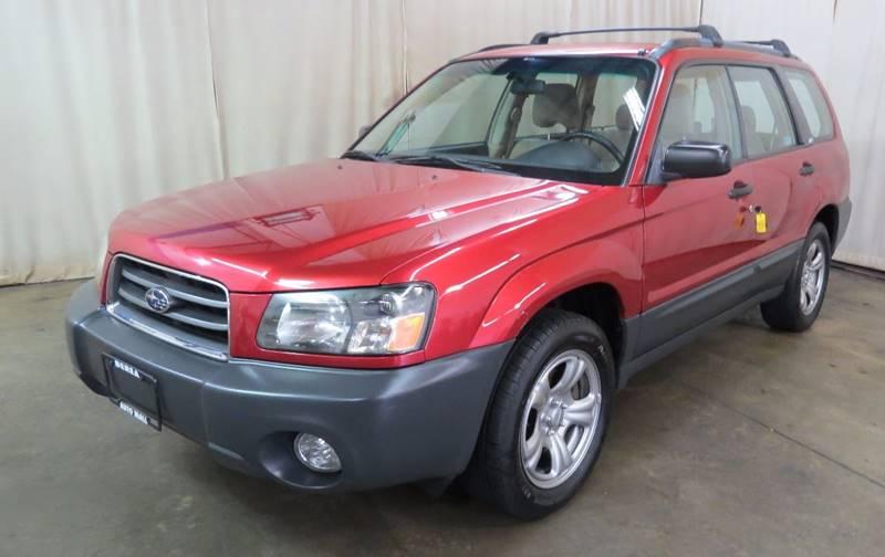 2004 Subaru Forester X AWD 4dr Wagon