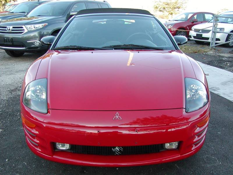 2001 Mitsubishi Eclipse Spyder GT 2dr Convertible for sale at Berea Auto Mall