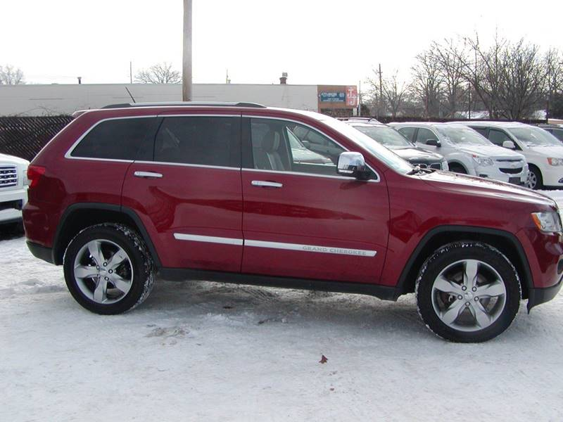 2011 Jeep Grand Cherokee Overland 4x4 4dr SUV in Berea