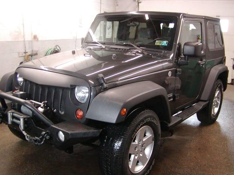 2010 Jeep Wrangler Sport 4x4 2dr SUV