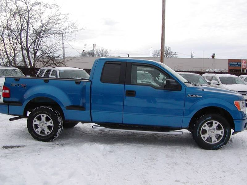 2009 Ford F-150 STX 4x4 4dr SuperCab Flareside 6.5 ft. SB for sale at Berea Auto Mall