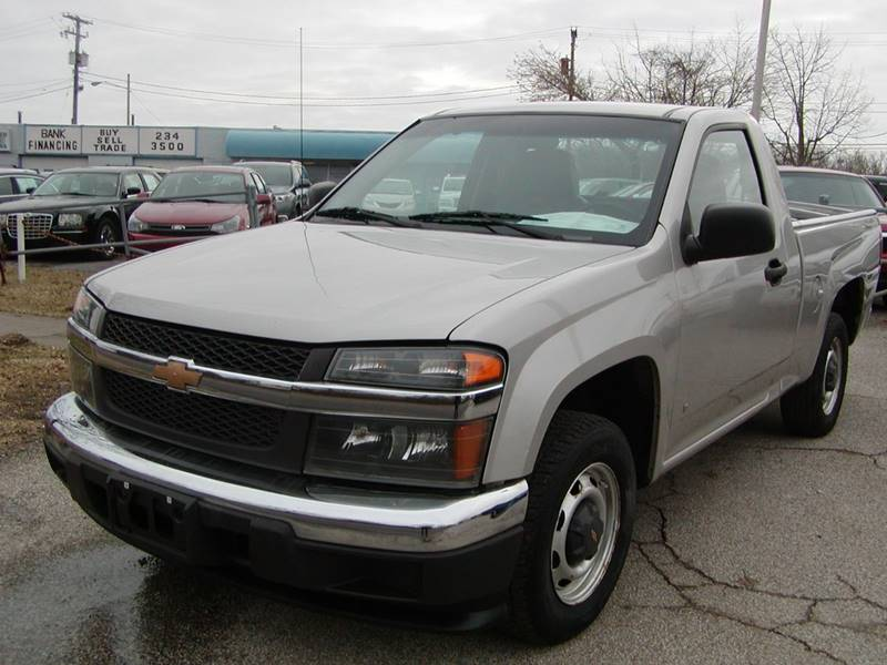 2007 Chevrolet Colorado Work Truck 2dr Regular Cab SB