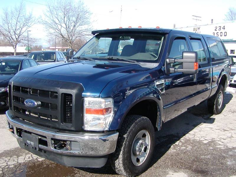 2008 Ford F-250 Super Duty XL 4dr Crew Cab 4WD SB