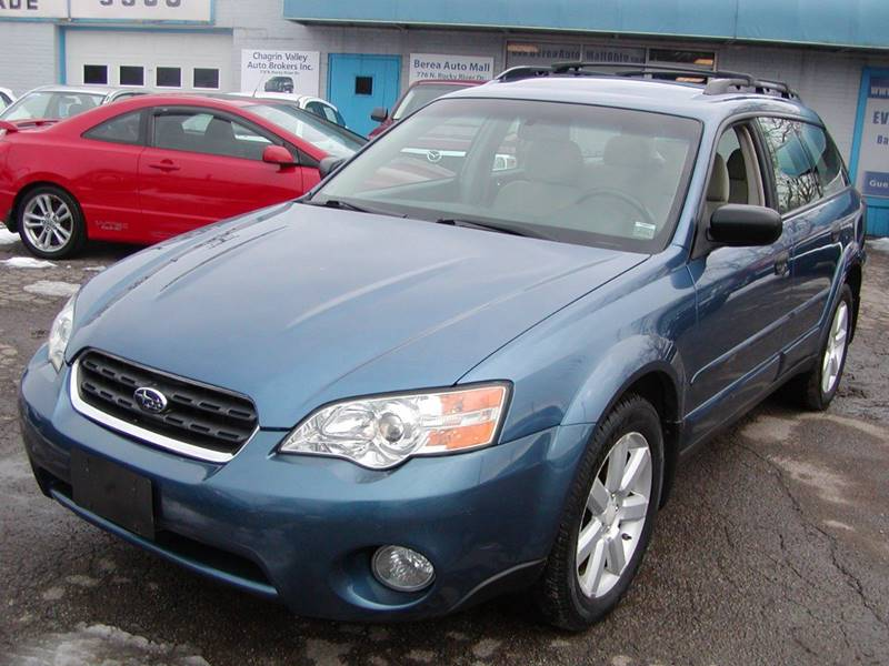2007 Subaru Outback 2.5i Basic AWD 4dr Wagon (2.5L F4 4A)