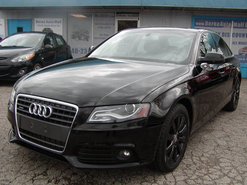 2010 Audi A4 2.0T quattro Premium Plus AWD 4dr Sedan 6A for sale at Berea Auto Mall