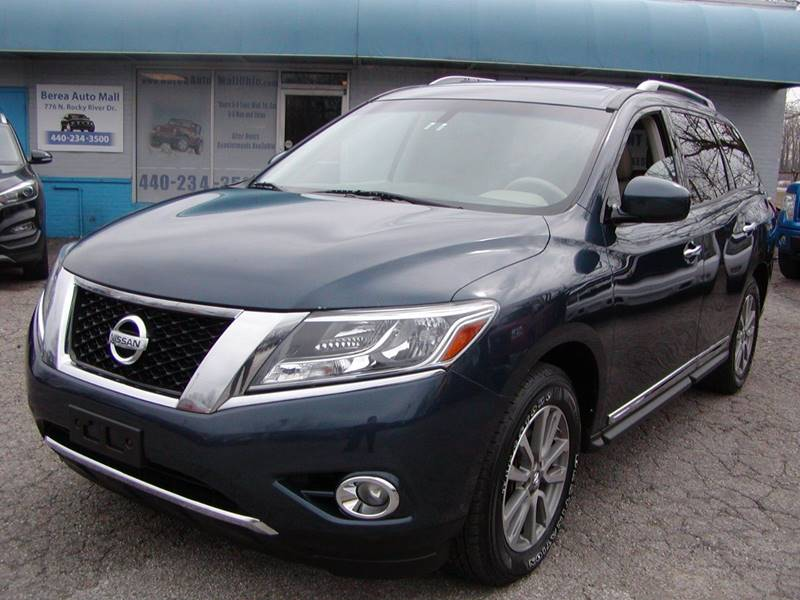 2013 Nissan Pathfinder SL 4x4 4dr SUV for sale at Berea Auto Mall