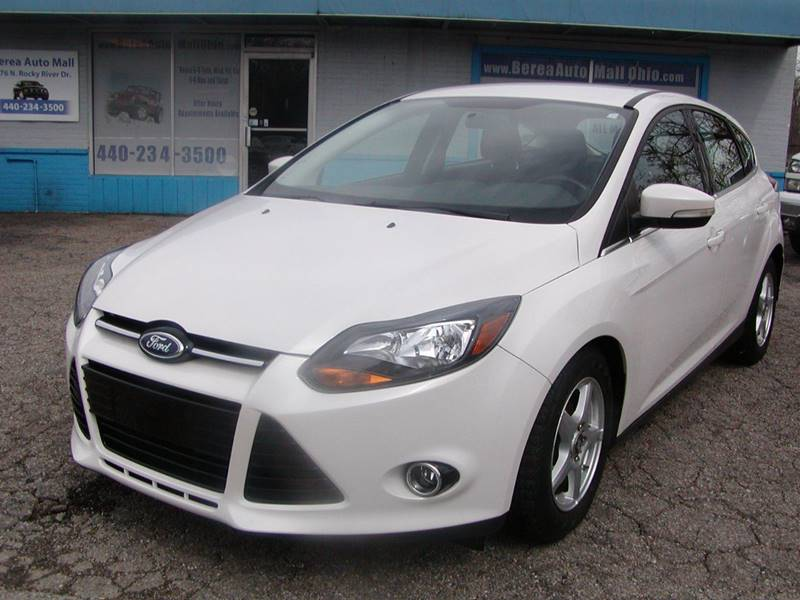 2012 Ford Focus Titanium 4dr Hatchback for sale at Berea Auto Mall