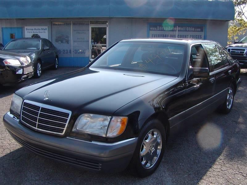 1995 Mercedes-Benz S-Class S 320 LWB 4dr Sedan for sale at Berea Auto Mall